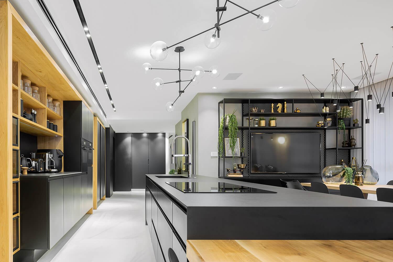 תאורה מעל המטבח דגם BE STICKS