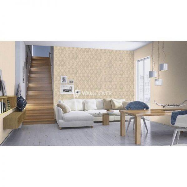 טפט עם איורים לסלון