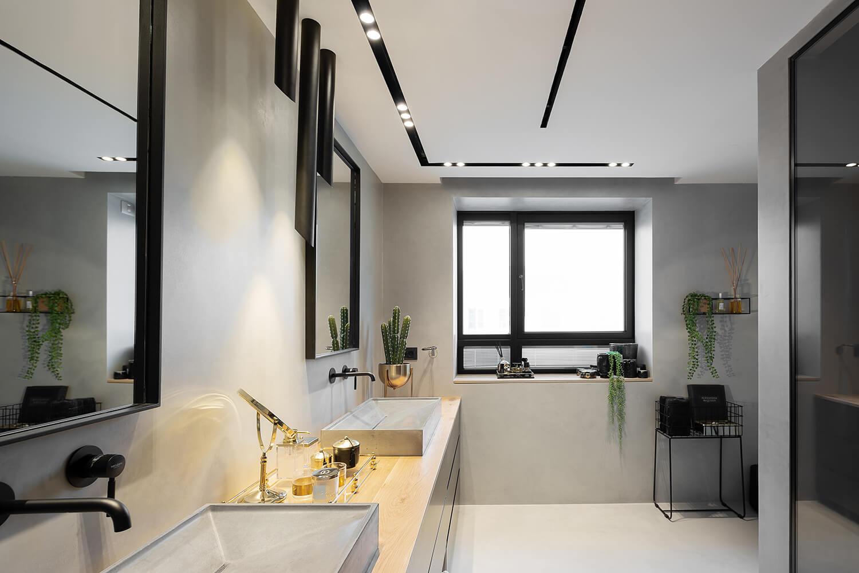תאורה משלימה לחדר אמבטיה