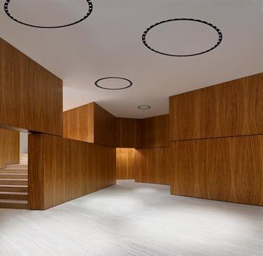 עיגולי תאורה מקצועיים בעיצוב אדריכלי