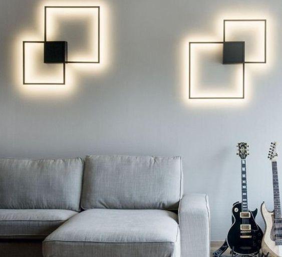 תאורה מעוצבת לסלון