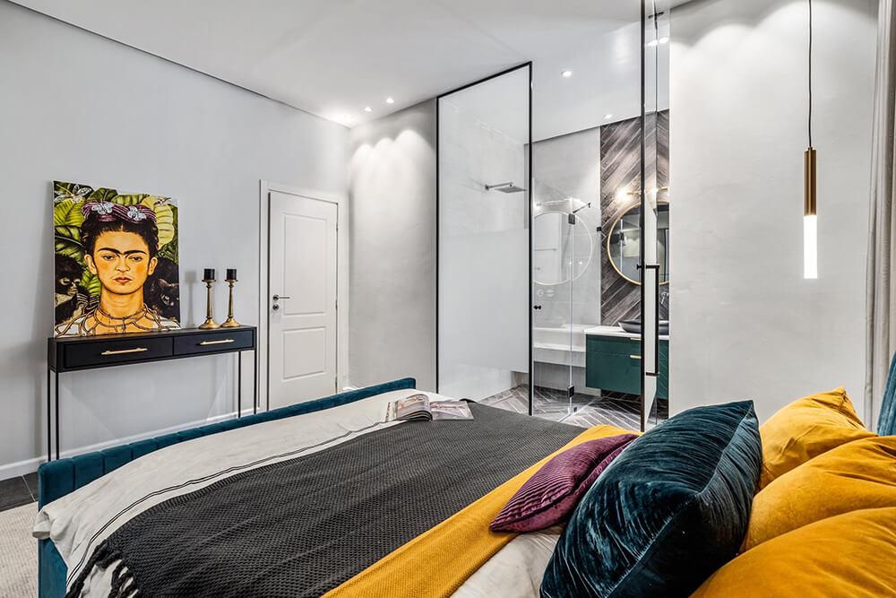 חדר שינה ב פרוייקט בית בקיבוץ