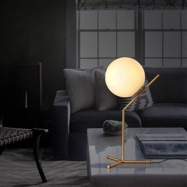 מנורת שולחן מעוצבת זהב דגם VENICE