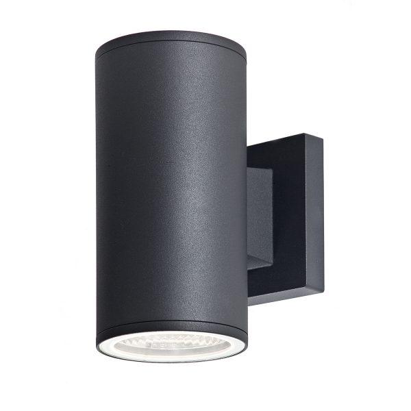 תאורת חוץ צמודה לקיר צבע שחור