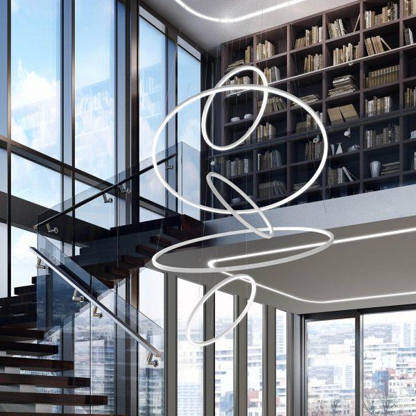 גוף תאורה מעוצב תלוי תקרה דגם BROOKLIN