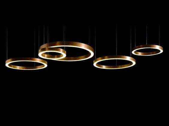 תאורה יוקרתית צבע זהב