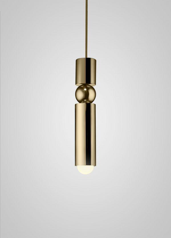 תאורה תלויה דגם NIR זהב