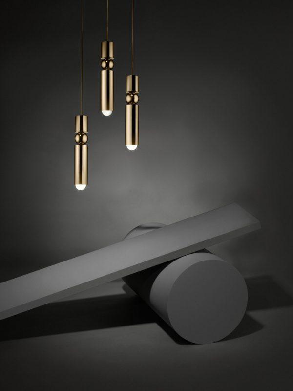 תאורה מעוצבת זהב דגם ניר