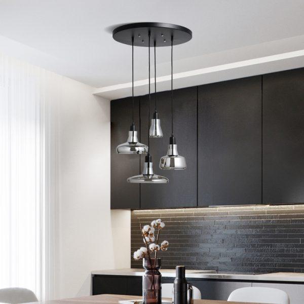 מנורות תלויות זכוכית דגם HARMONIKA
