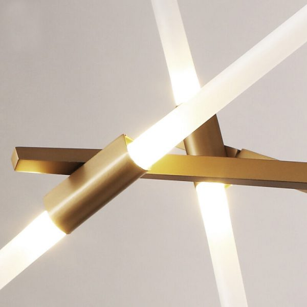 גוף תאורה מעוצב דגם-GOLD STICK LIGHT