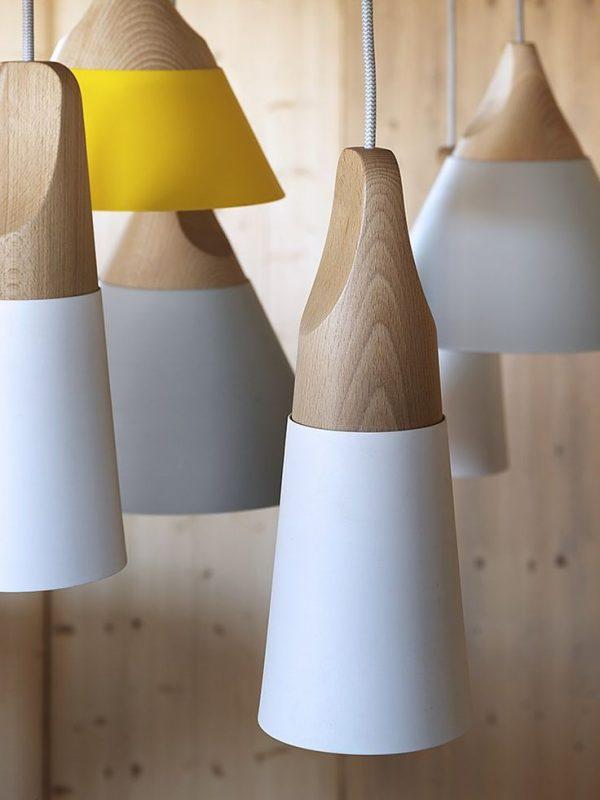 תאורה מעוצבת עץ דגם DON