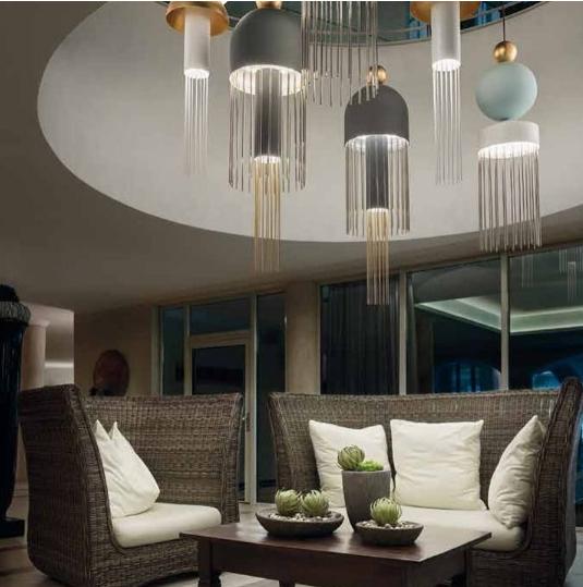 שנדליר מעוצב מבית סיטי לייט תאורה