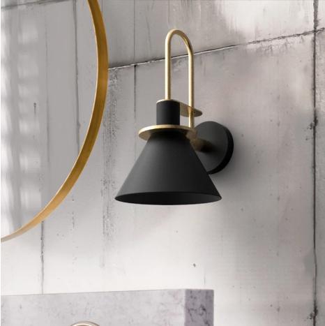 מנורת נורדי שחור