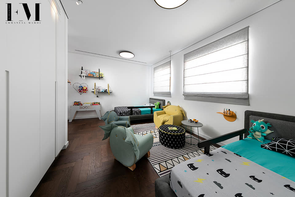 חדר שינה לילד מעוצב