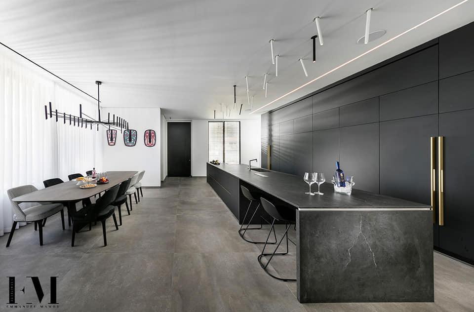 עיצוב מודרני ותאורה דקורטיבית