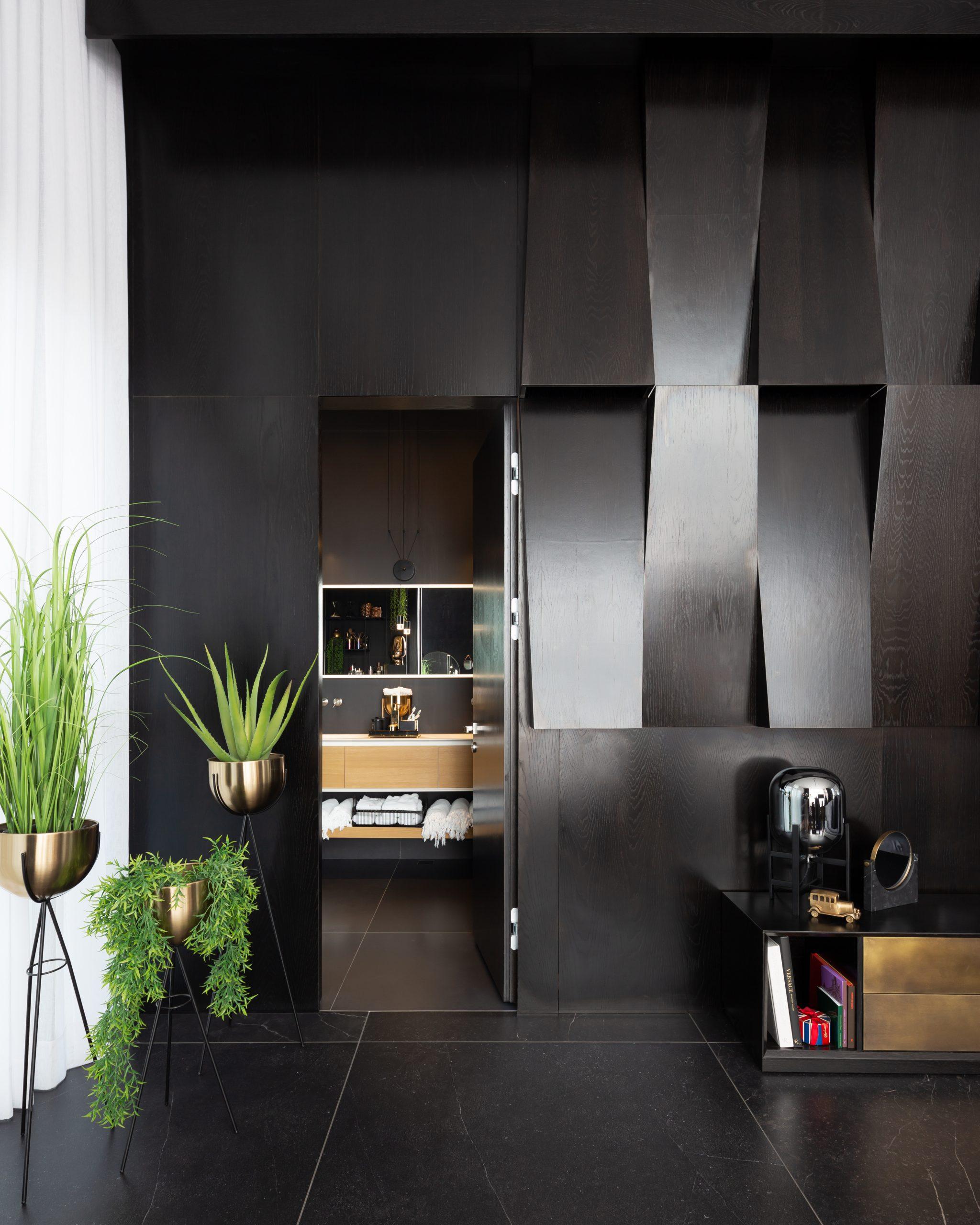 כניסה לחדר שינה עיצוב אדריכלי מקצועי