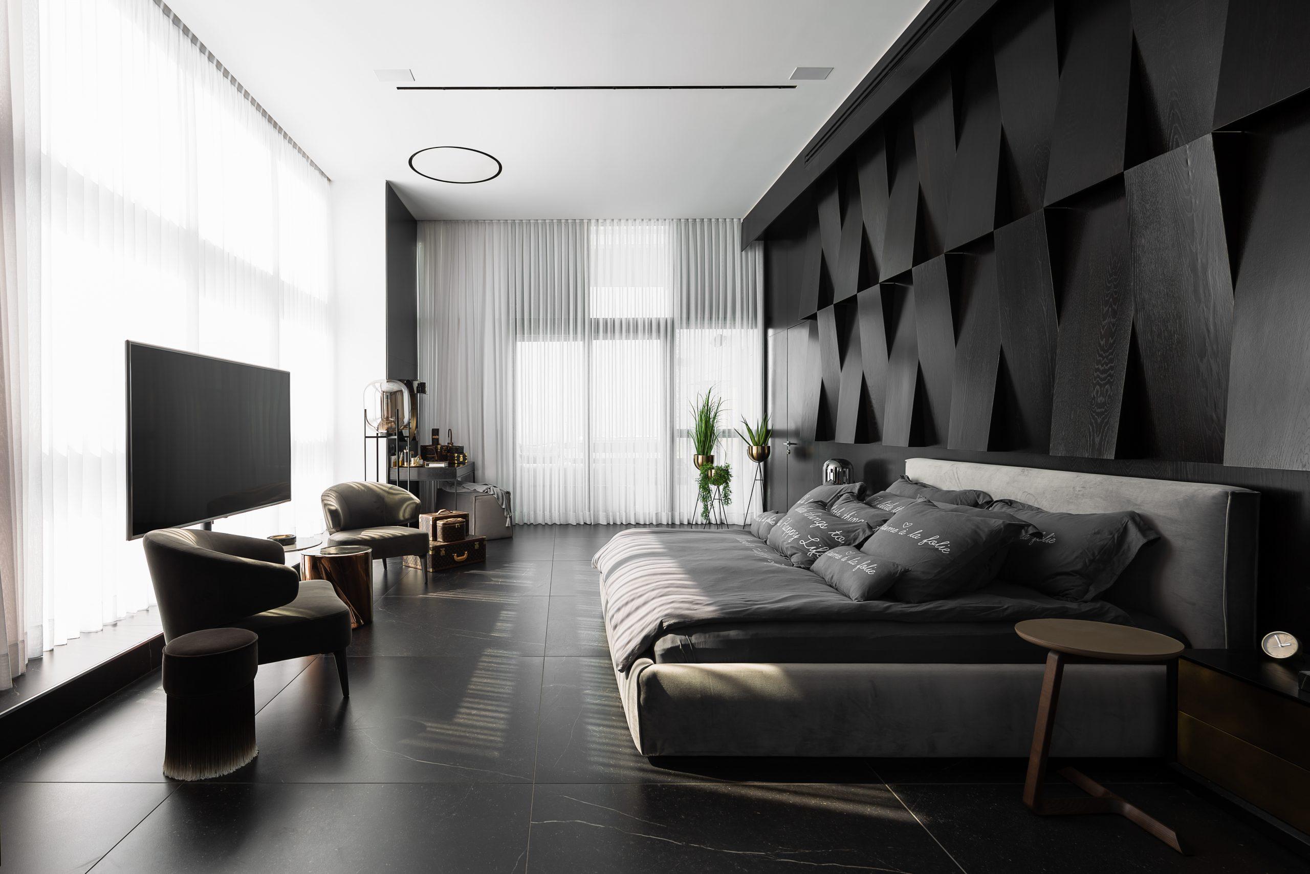 עיצוב מודרני לחדר שינה