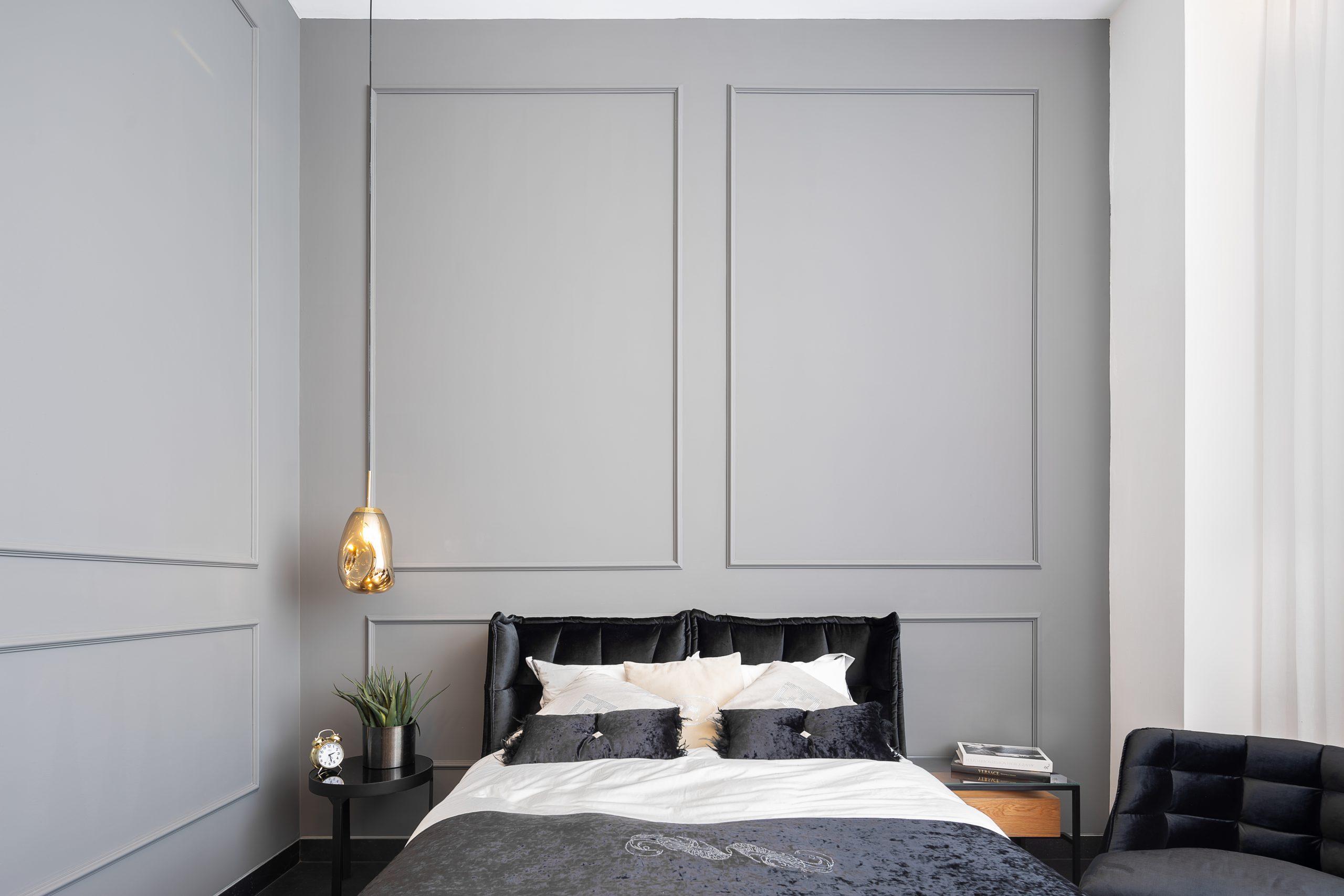 עיצוב קלאסי לחדר שינה