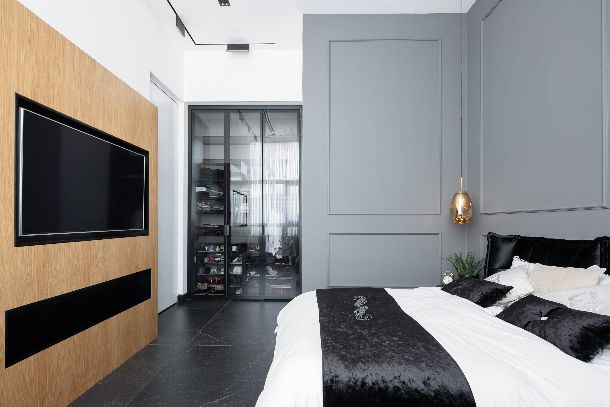 חדר שינה מעוצב אדריכלות מקצועית