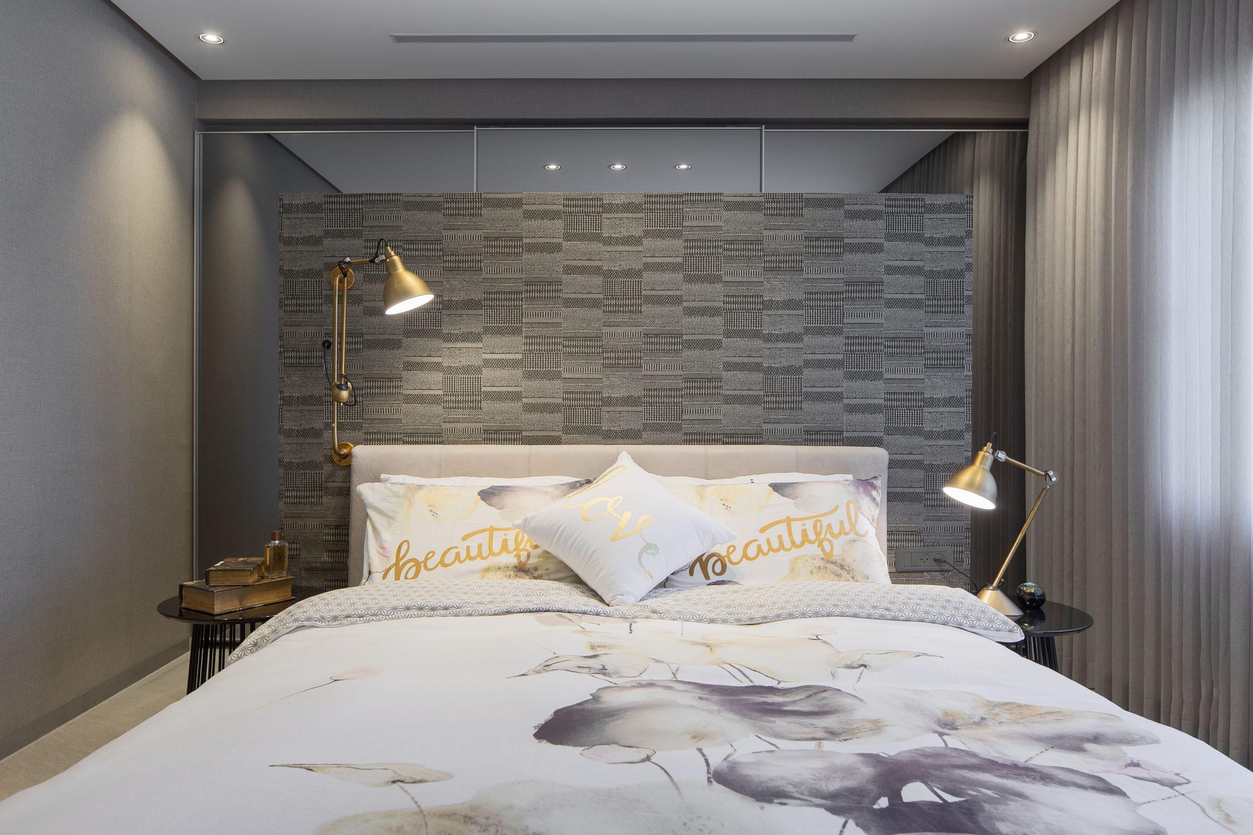 תאורה מעוצבת לחדר שינה